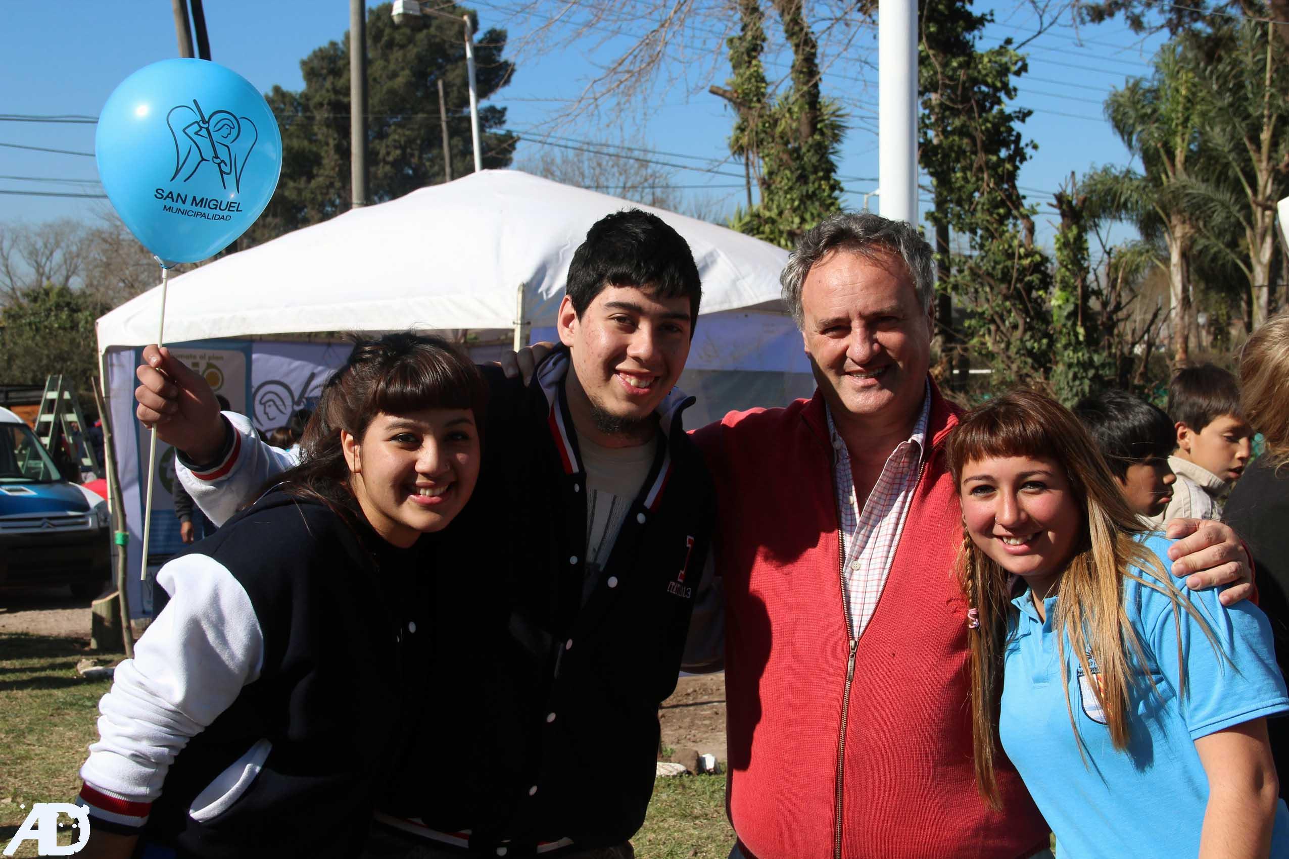 Se celebró la 111º Fiesta del árbol en San Miguel