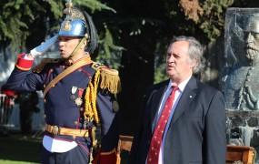 Joaquín de la Torre tomó Promesa de lealtad a la bandera a más de 2500 alumnos de colegios públicos y privados de San Miguel