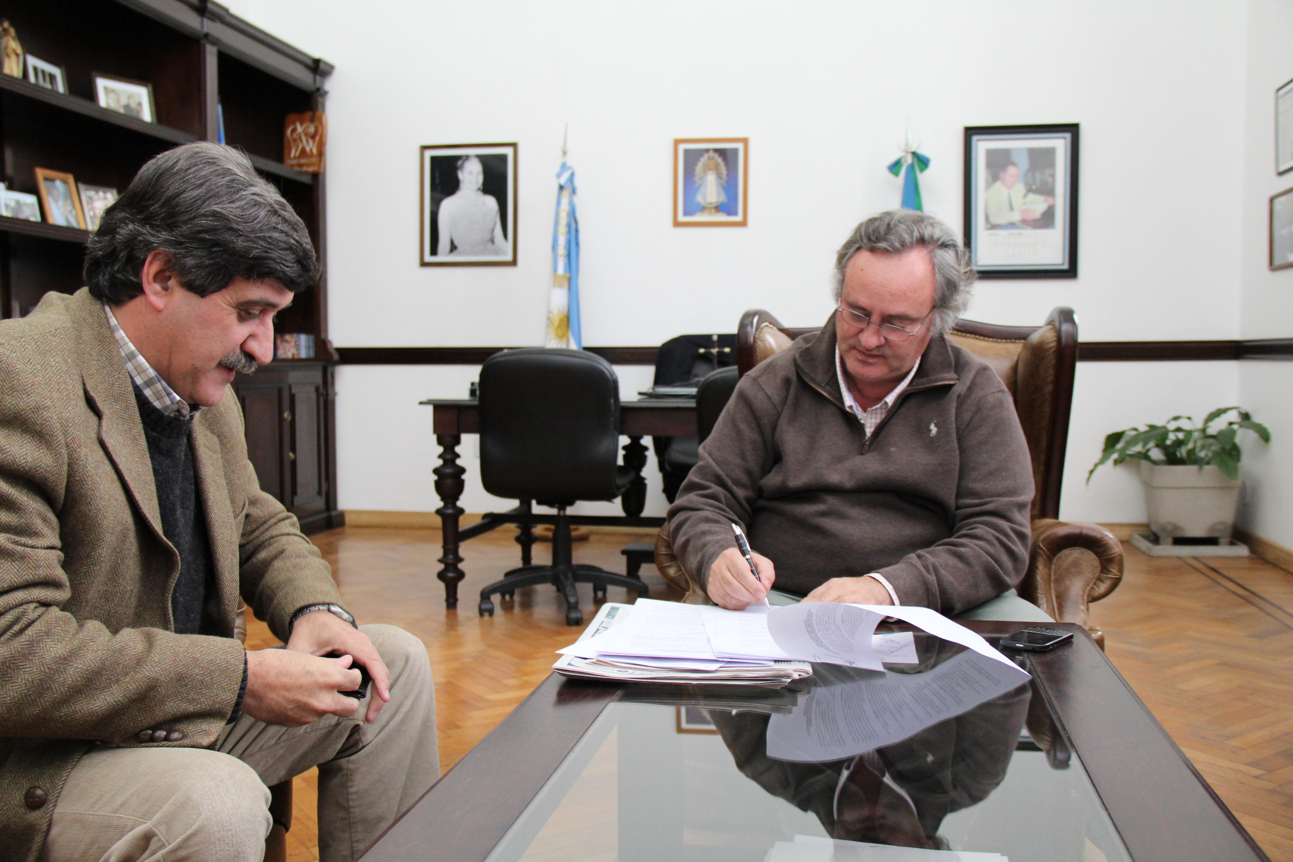 San Miguel firmó convenio de cooperación para prácticas profesionales