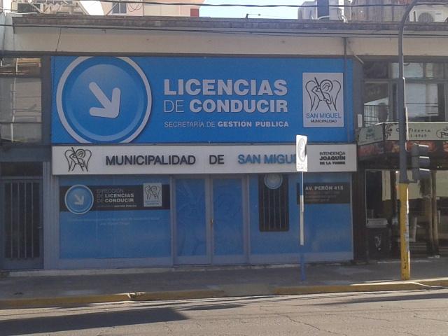 San Miguel exime a jubilados en licencias de conducir