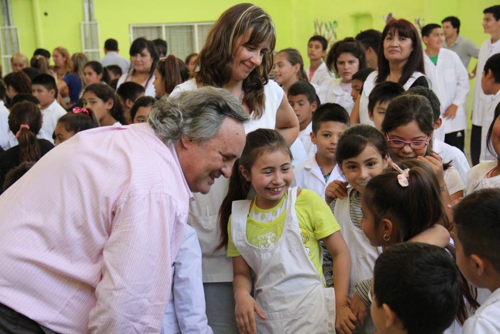 Más obras en escuelas financiadas con fondos municipales