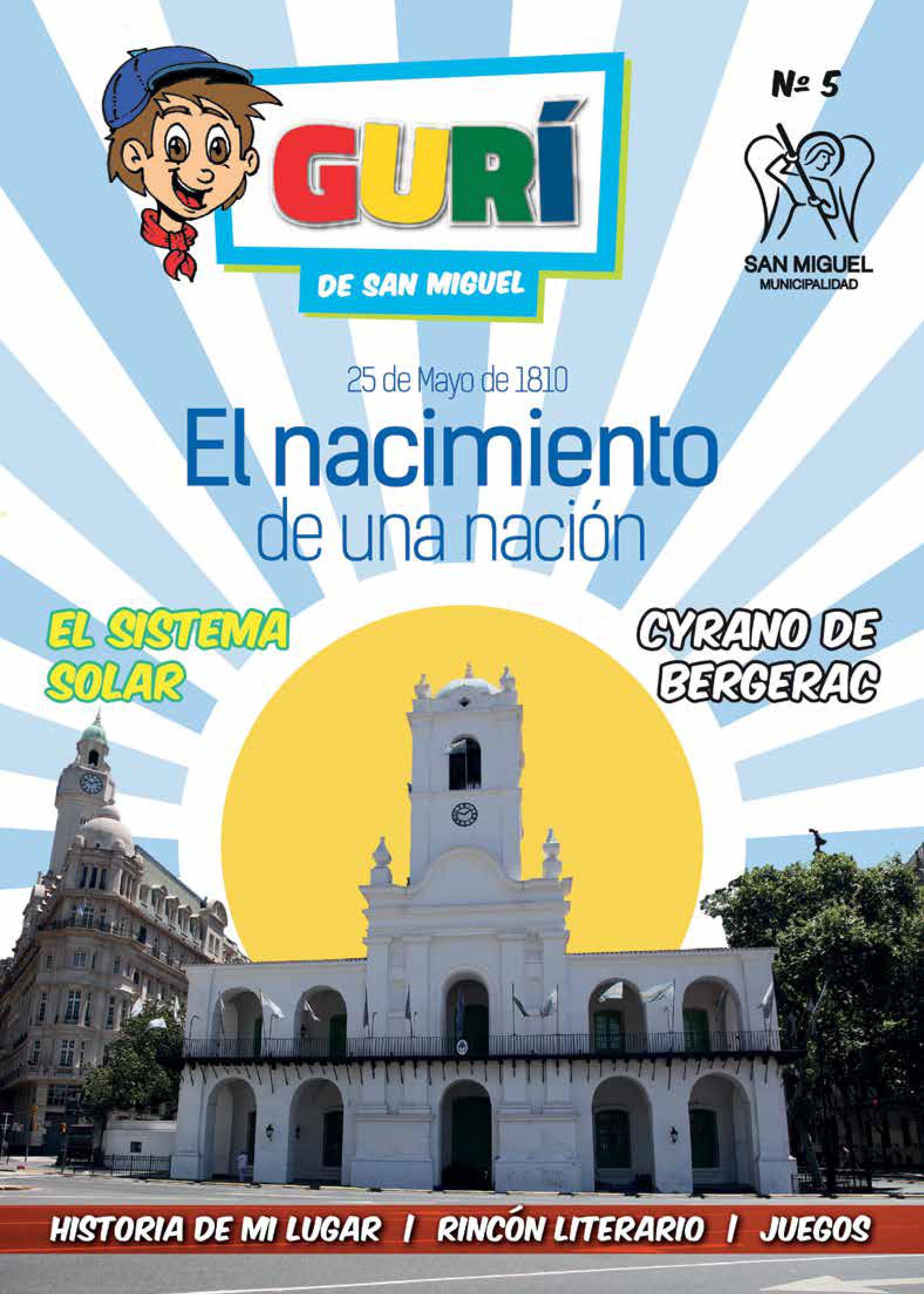 Boletín «Gurí» 25 Mayo