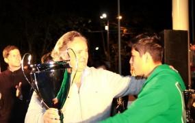 El intendente saludó a los ganadores de las olimpiadas deportivas y culturales