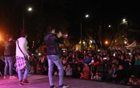 La Plaza de las Carretas volvió a ser el ecensario de las Fiestas Patronales