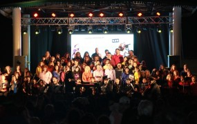 La orquesta municipal participó de la jornada