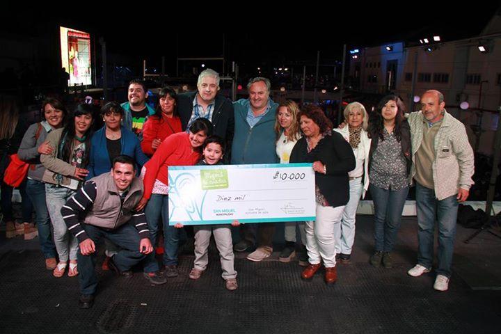 Cierre del concurso «Mejora tu cuadra, mejoremos San Miguel 2015»
