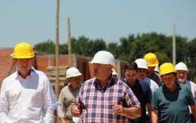 Se estima que la finalización de la obra estará para fines de octubre