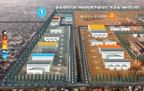 Así estará conformado el Parque Industrial a su término