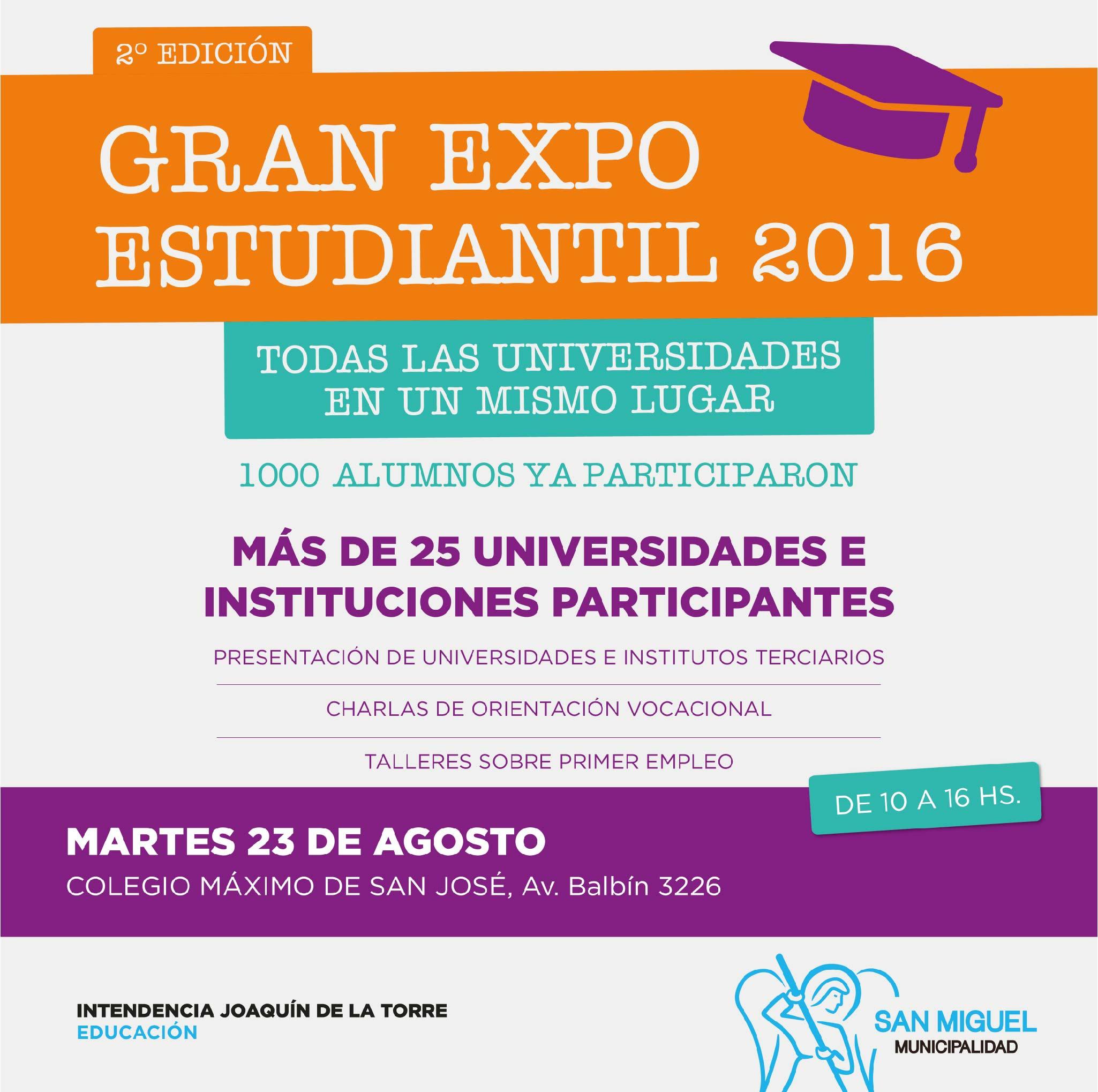 Expo universidades 2016