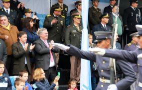 Misa, Tedeum y gran desfile por la Patria