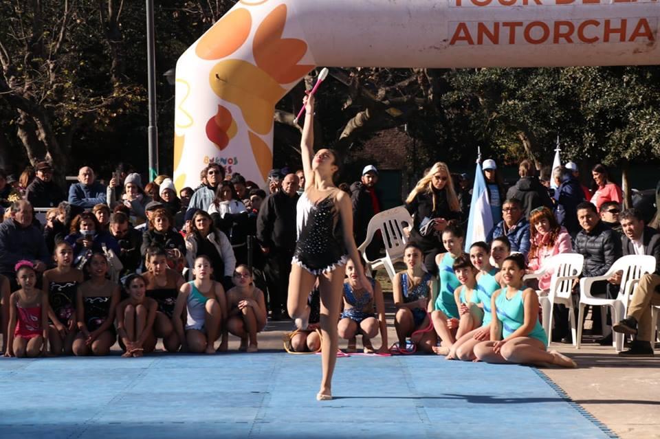 La Llama Olímpica de la Juventud