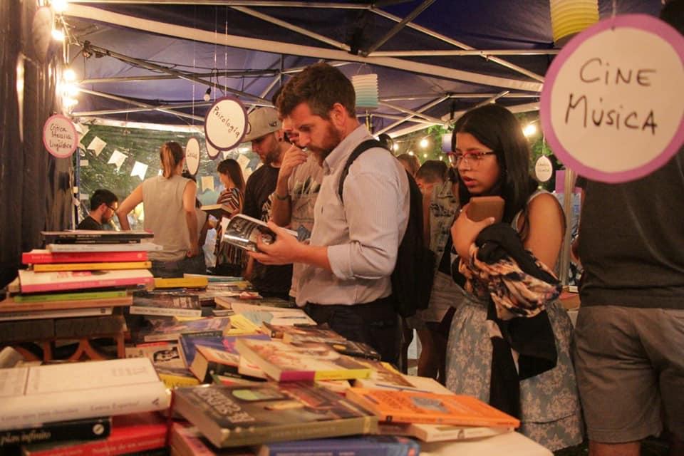 Sacheri participó de la 6ta edición de la Noche de Libros de San Miguel