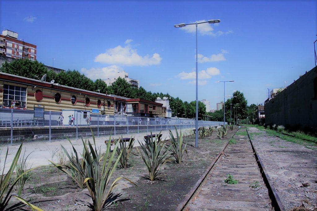 Nuevo paseo en el viejo andén de la Estación San Miguel