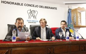 Jaime Méndez inauguró las sesiones del Concejo Deliberante