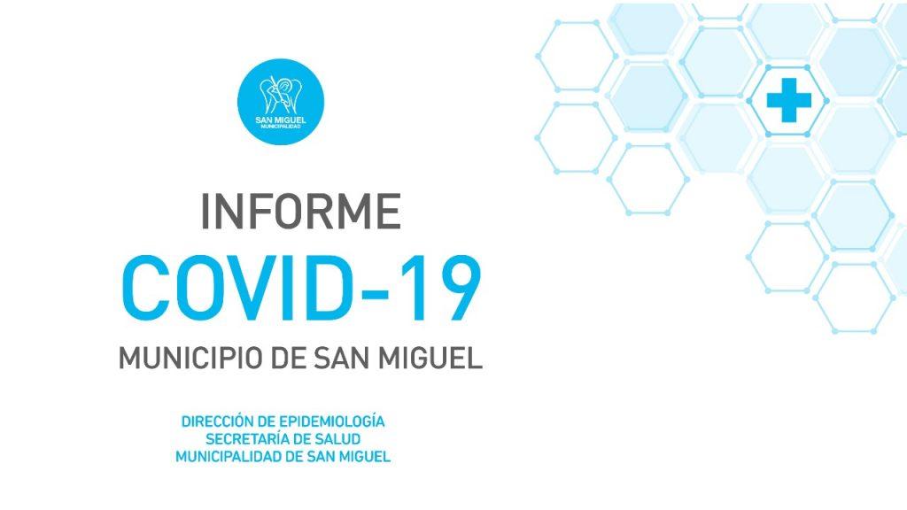 Informe sobre coronavirus en San Miguel